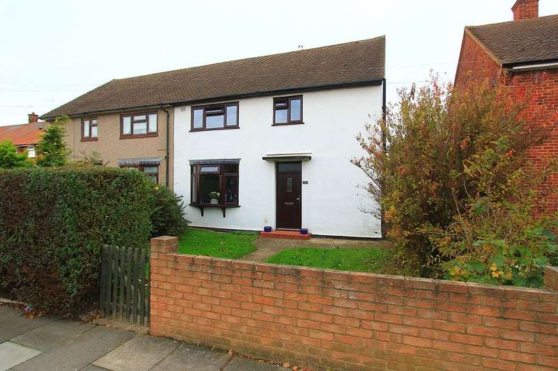3 Bedrooms Semi Detached House for sale in Erriff Drive, South Ockendon, Essex, RM15 5AW