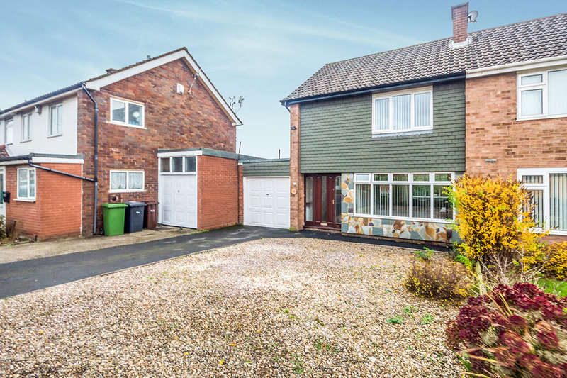 3 Bedrooms Semi Detached House for sale in Lyndale Drive, Wolverhampton, WV11