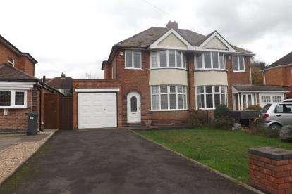 3 Bedrooms Semi Detached House for sale in Hawthorne Road, Castle Bromwich, Birmingham, West Midlands
