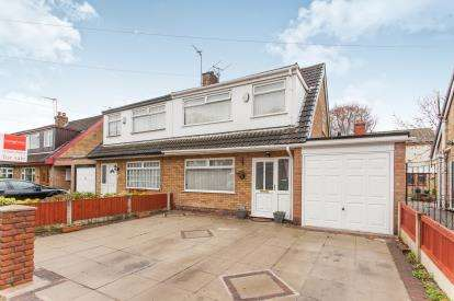 3 Bedrooms Semi Detached House for sale in Delafield Close, Fearnhead, Warrington, Cheshire