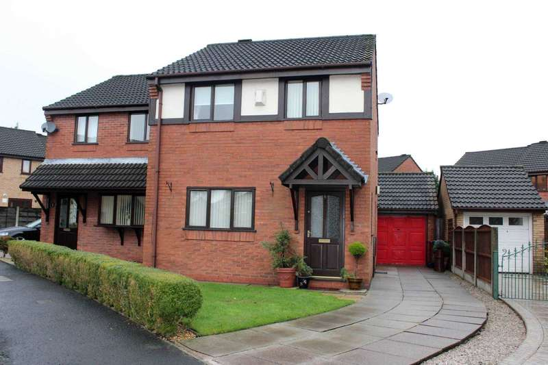 3 Bedrooms Semi Detached House for sale in Hollymill Crescent, Astley Bridge