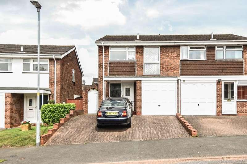 3 Bedrooms Semi Detached House for sale in Pennine Road, Bromsgrove, B61