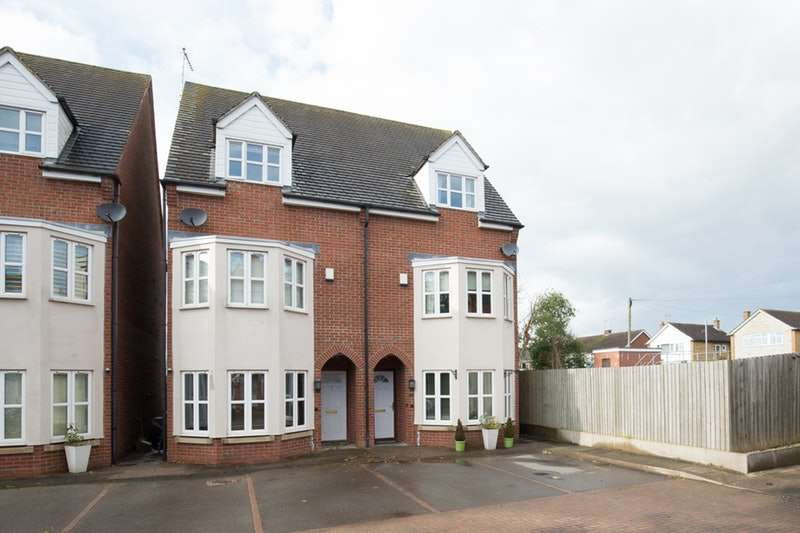 4 Bedrooms Semi Detached House for sale in South View Road, Leamington Spa, Warwickshire, CV32