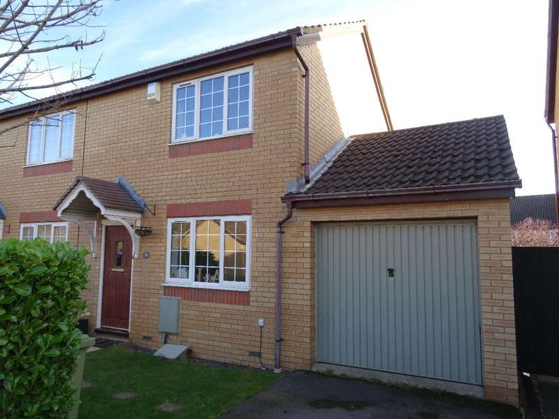 2 Bedrooms Semi Detached House for sale in KIPPELL HILL, OLNEY