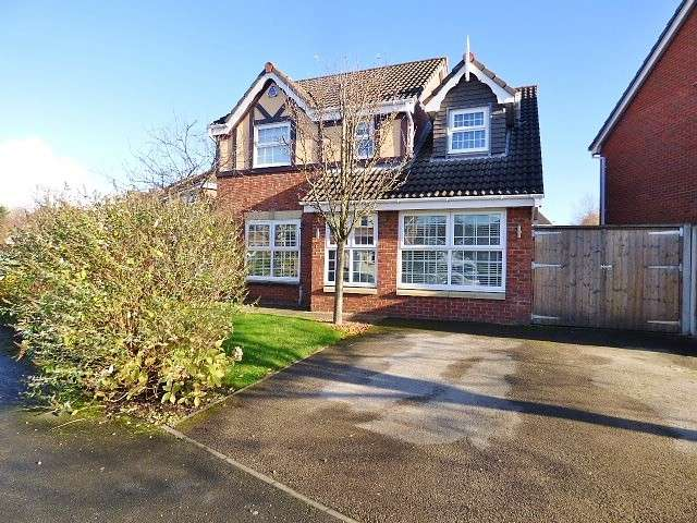4 Bedrooms Detached House for sale in California Close, Chapelford, Warrington