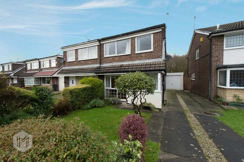 3 Bedrooms Semi Detached House for sale in Wilmcote Close, Lostock, Bolton, BL6