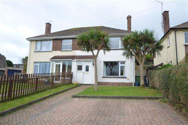 3 Bedrooms Semi Detached House for sale in Elm Grove Close, Dawlish