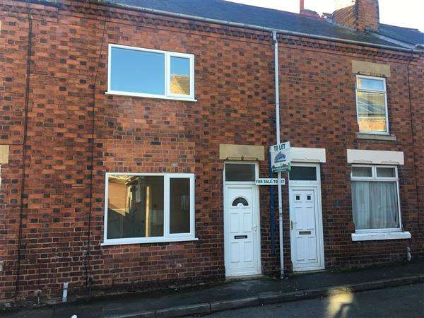 2 Bedrooms Terraced House for sale in Fox Road, Whitwell, Worksop