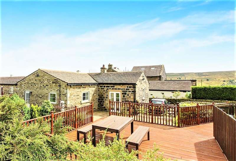 3 Bedrooms Semi Detached House for sale in Well Cottage, Black Moor Road, Oxenhope