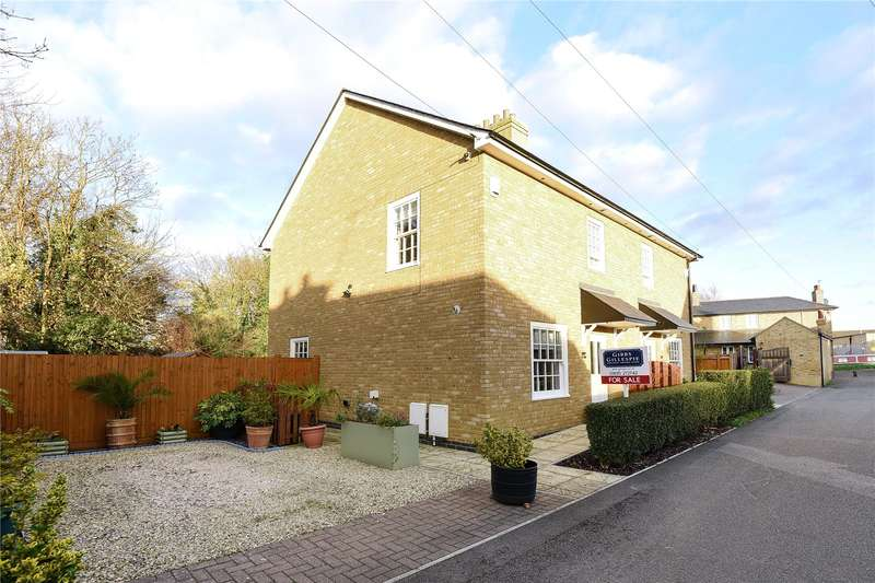 2 Bedrooms Semi Detached House for sale in Culvert Lane, Uxbridge, Middlesex, UB8