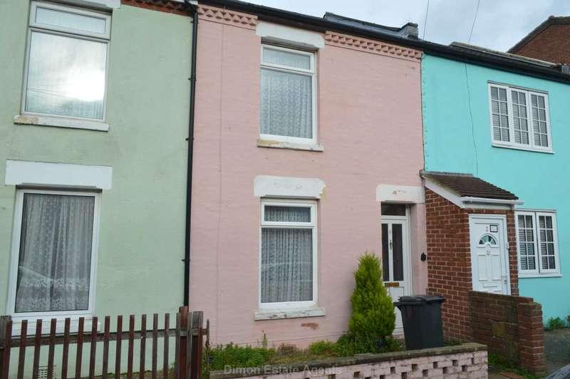2 Bedrooms Terraced House for sale in Westfield Road, Gosport