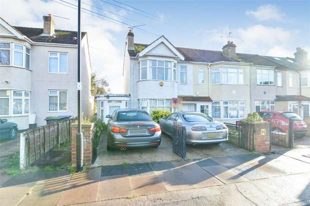 2 Bedrooms End Of Terrace House for sale in Pembroke Avenue, ENFIELD, Middlesex