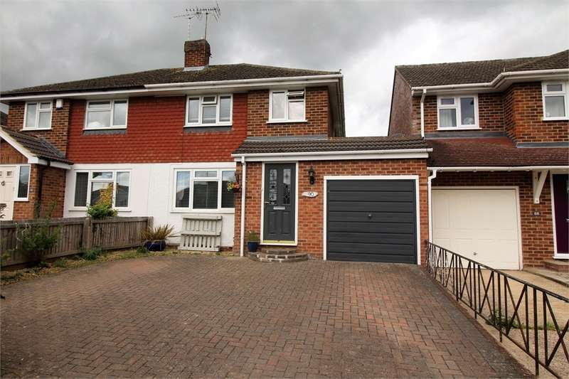 3 Bedrooms Semi Detached House for sale in Fairford Road, Tilehurst, READING, Berkshire