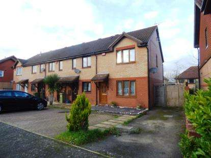 3 Bedrooms End Of Terrace House for sale in Pettingrew Close, Walnut Tree, Milton Keynes