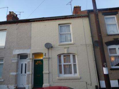3 Bedrooms Terraced House for sale in Salisbury Street, Semilong, Northampton, Northamptonshire