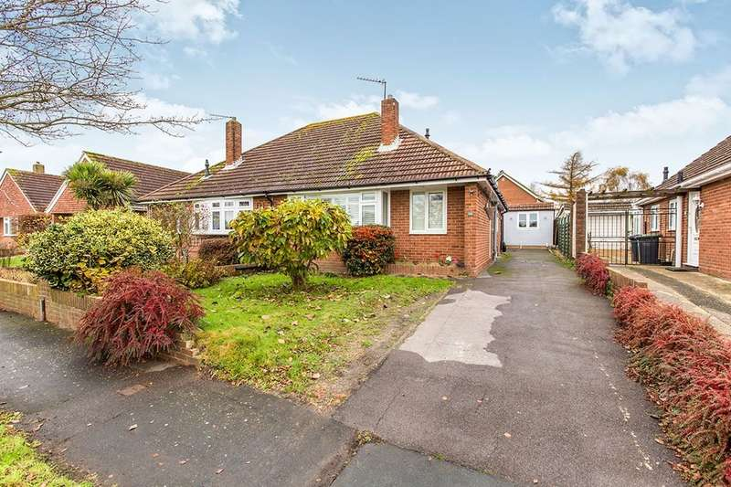2 Bedrooms Semi Detached Bungalow for sale in Morelands Road, Waterlooville, PO7