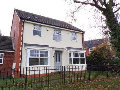 4 Bedrooms Link Detached House for sale in Percival Way, Groby, Leicester, Leicestershire
