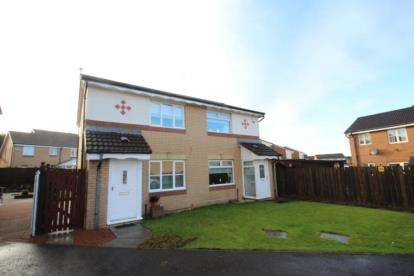 2 Bedrooms Semi Detached House for sale in Ivy Grove, Coatbridge, North Lanarkshire