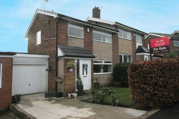 3 Bedrooms Semi Detached House for sale in Ramwells Brow, Bromley Cross, Bolton