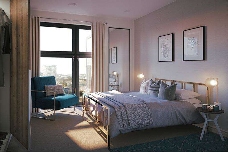 2 Bedrooms Apartment Flat for sale in The Axium, Windmill Street, Birmingham, B1
