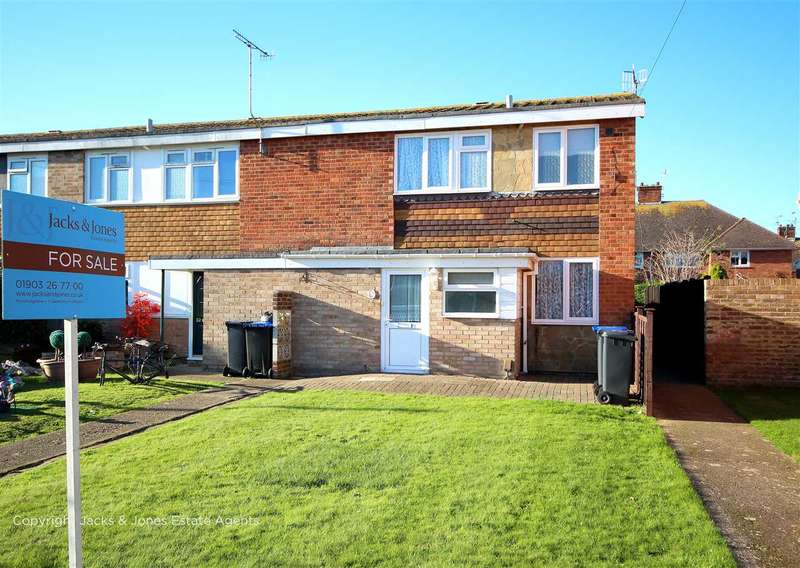 2 Bedrooms End Of Terrace House for sale in Chippers Close, Tarring, BN13