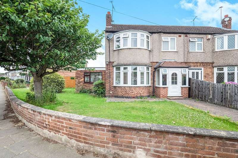 3 Bedrooms Semi Detached House for sale in Torcross Avenue, Coventry, CV2