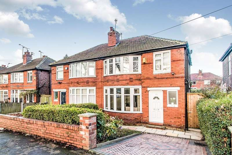 3 Bedrooms Semi Detached House for sale in Parsonage Road, Withington, Manchester, M20