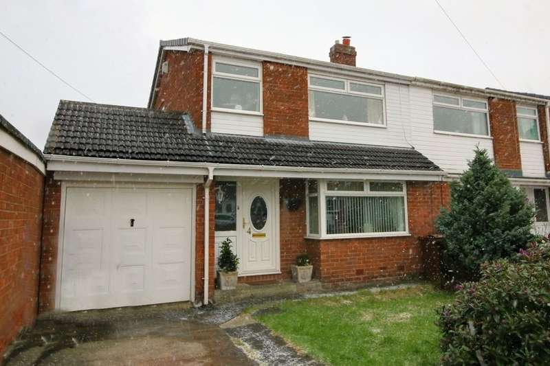 3 Bedrooms Semi Detached House for sale in Lockerbie Gardens, South West Denton, Newcastle Upon Tyne, NE15