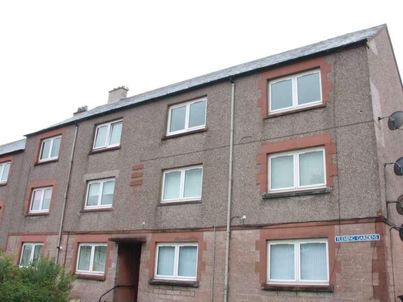 2 Bedrooms Flat for sale in 10 Fleming Gardens, Camelon, Falkirk, FK1 4BP
