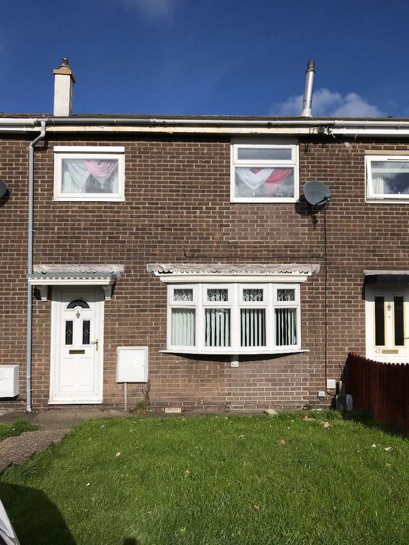 3 Bedrooms Terraced House for sale in Ridgeway, Ashington, NE63 9TL