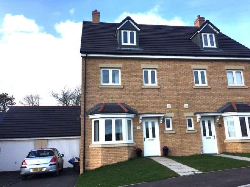 4 Bedrooms Semi Detached House for sale in Trem Gwlad Yr Haf, Coity, Bridgend. CF35 6HG