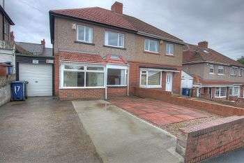 3 Bedrooms Semi Detached House for sale in Benwell Grange Avenue, Benwell, Newcastle Upon Tyne , NE15 6RP