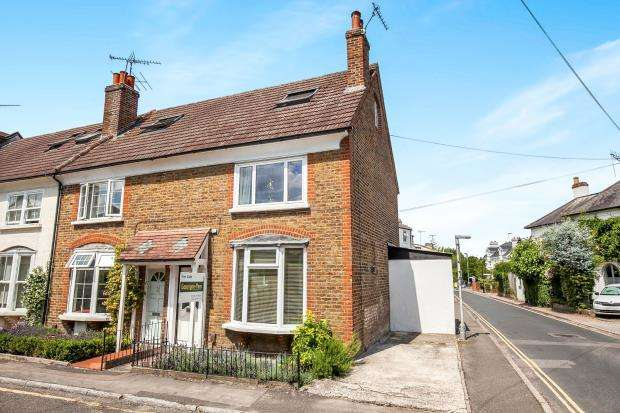 3 Bedrooms End Of Terrace House for sale in Leatherhead, Surrey