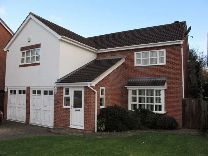 5 Bedrooms Detached House for sale in Barnfield Drive, Solihull