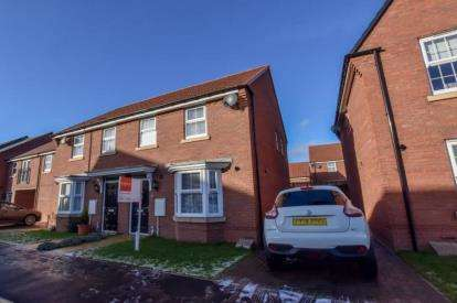 3 Bedrooms Semi Detached House for sale in Rushton Way, Washington, Tyne and Wear, NE38