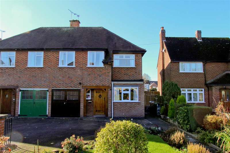 3 Bedrooms Semi Detached House for sale in Station Road, Ratby