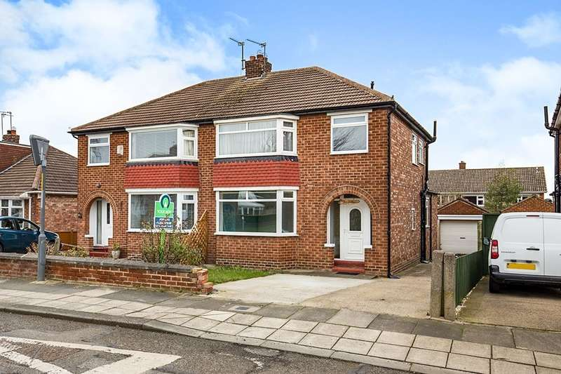 3 Bedrooms Semi Detached House for rent in Malvern Drive, Middlesbrough, TS5