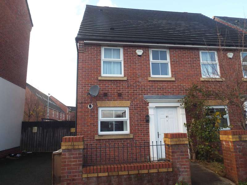 3 Bedrooms Semi Detached House for sale in Cardinal Street, Cheetham, Manchester, M8 0WN