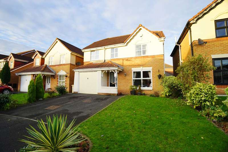 5 Bedrooms Detached House for sale in Welburn Close, Middle Hulton