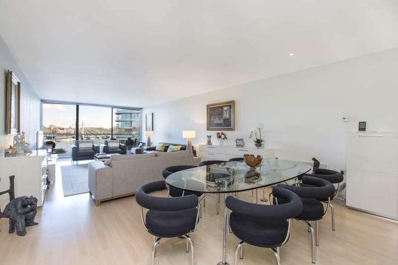 3 Bedrooms Apartment Flat for sale in Albion Riverside, Hester Road, London, SW11