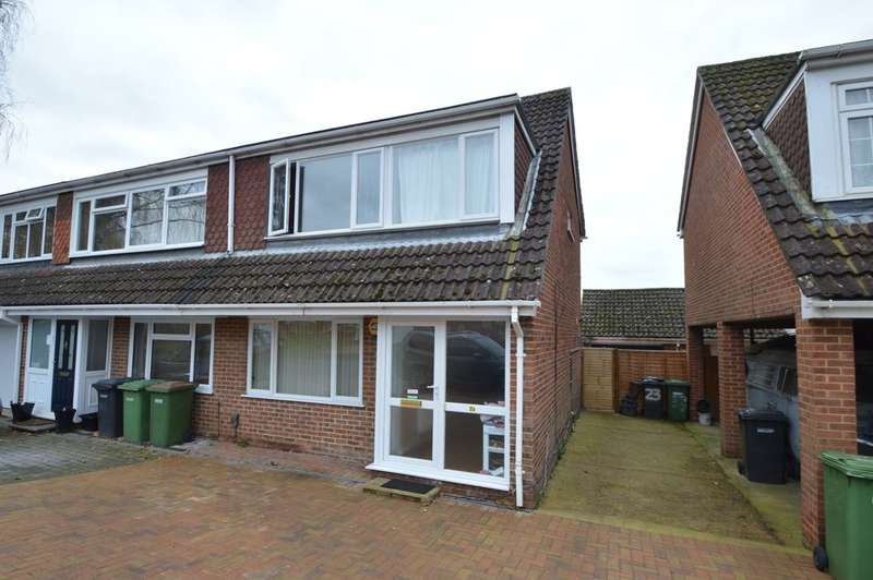 3 Bedrooms Semi Detached House for sale in Browsholme Close, Boyatt Wood