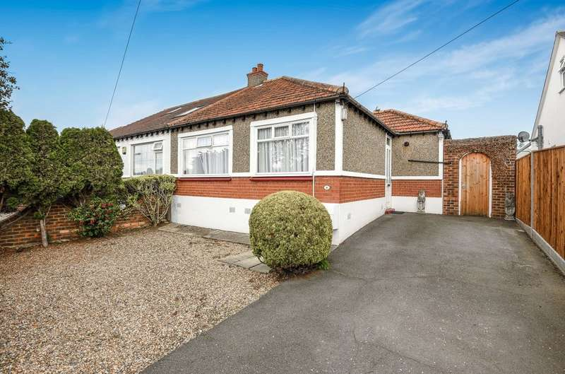 2 Bedrooms Semi Detached Bungalow for sale in Lyndhurst Gardens, Pinner