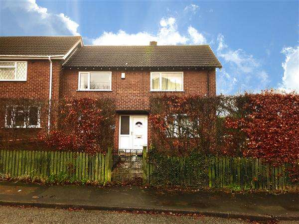 3 Bedrooms End Of Terrace House for sale in Brocklehurst Avenue, Macclesfield