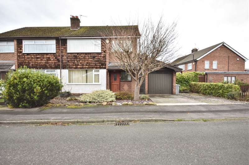 3 Bedrooms Semi Detached House for sale in TULWORTH ROAD, POYNTON
