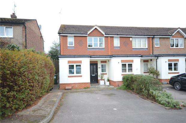 3 Bedrooms End Of Terrace House for sale in Derwent Drive, Maidenhead, Berkshire