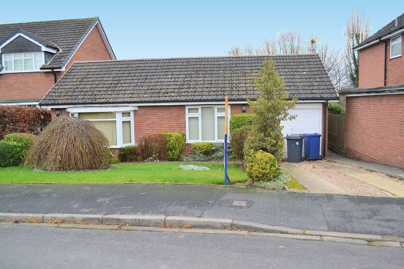 2 Bedrooms Detached Bungalow for sale in Paget Rise, Abbots Bromley
