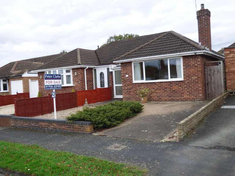 2 Bedrooms Semi Detached Bungalow for sale in Crawford Close, Leamington Spa