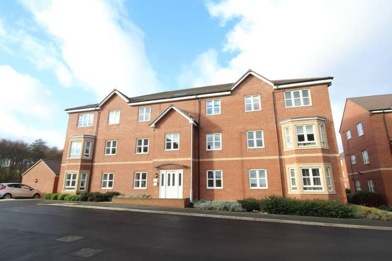2 Bedrooms Flat for sale in Scampston Drive, East Ardsley, Wakefield, WF3