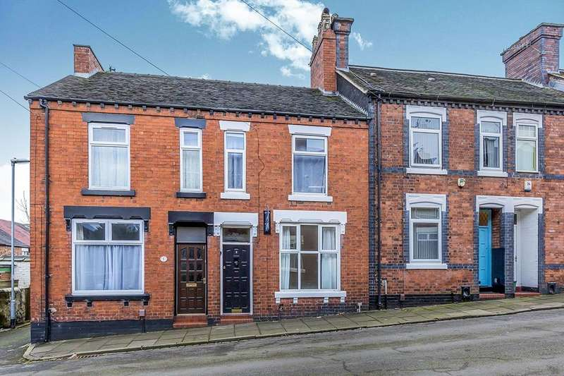 3 Bedrooms Terraced House for sale in Balliol Street, Stoke-On-Trent, ST4
