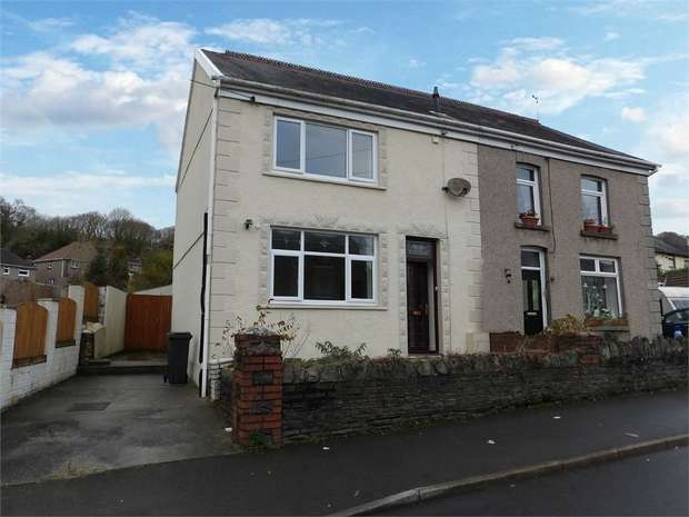 3 Bedrooms Semi Detached House for sale in Tanydarren, Cilmaengwyn, Pontardawe, Swansea, West Glamorgan